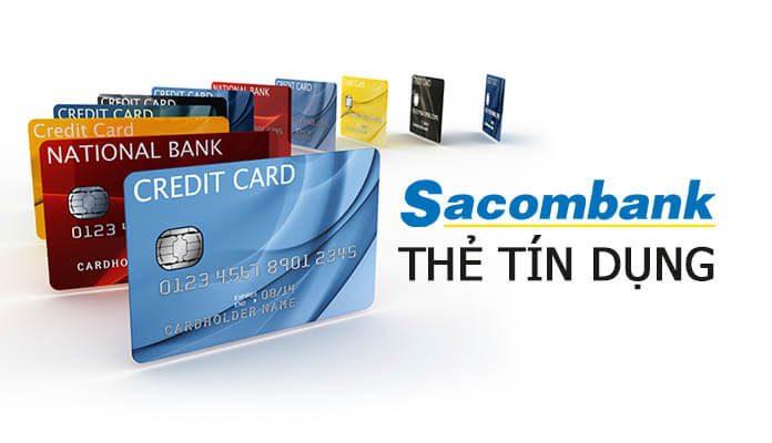 Lợi ích của thẻ tín dụng Sacombank
